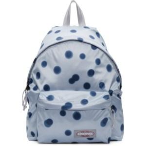 Eastpak Blue Polka Dot Padded Pakr Backpack
