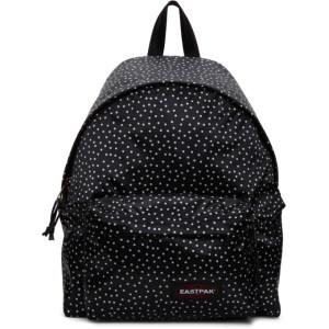 Eastpak Black Polka Dot Padded Pakr Backpack