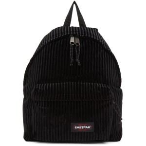 Eastpak Black Velvet Padded Pakr Backpack