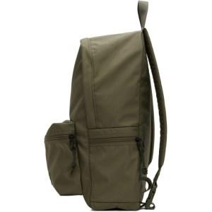 Eastpak Khaki Satin Padded Pakr Backpack