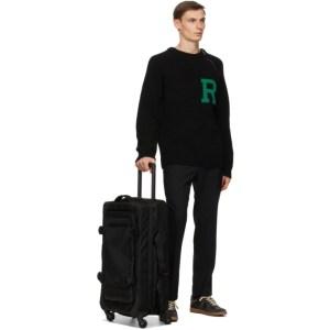Eastpak Black Medium Trans4 CNNCT Suitcase
