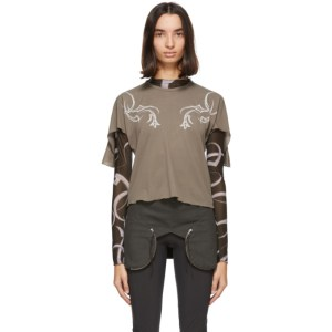 Charlotte Knowles Grey Storm T-Shirt