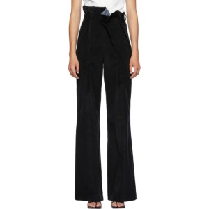 Situationist SSENSE Exclusive Black Corduroy Trousers