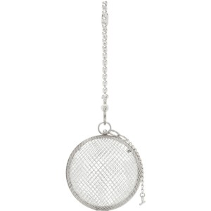 Martine Ali Silver Cage Ball Bag