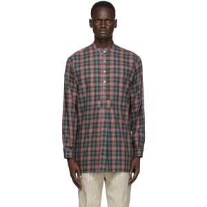 Martin Asbjorn Green Check Keith Shirt