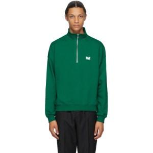 Martin Asbjorn Green Turtleneck Sweatshirt