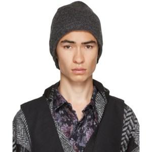 Engineered Garments Grey Wool Knit Beanie