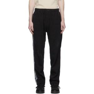 Engineered Garments Black Taped Lounge Pants