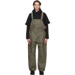 Engineered Garments Green Wader Overalls