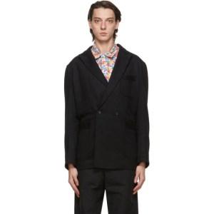 Engineered Garments Black Wool Newport Jacket