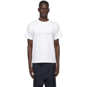 Fumito Ganryu White Graphic T-Shirt