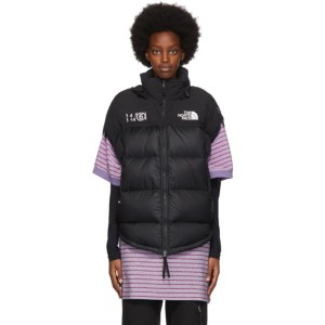 MM6 Maison Margiela Black The North Face Edition Down Circle Jacket