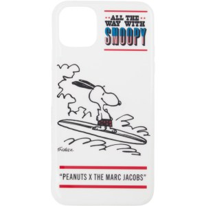 Marc Jacobs White Peanuts Edition Snoopy iPhone 11 Pro Max Case