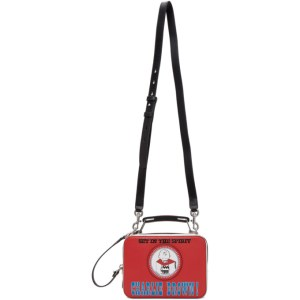 Marc Jacobs Red Peanuts Edition The Mini Box Bag