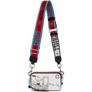Marc Jacobs Red and Blue Peanuts Edition Snoopy Snapshot Shoulder Bag