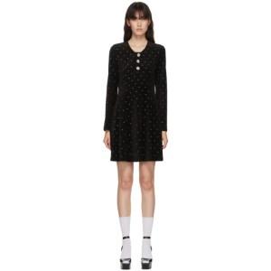 Marc Jacobs Black Velour The Paris Dress