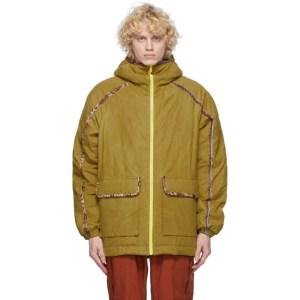 paria /FARZANEH Yellow Close Up Olivine Jacket