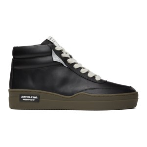 Article No. Black Casual Running High-Top Sneakers