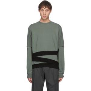 Keenkee Green and Black Sculpture Pt. 2 Sweatshirt
