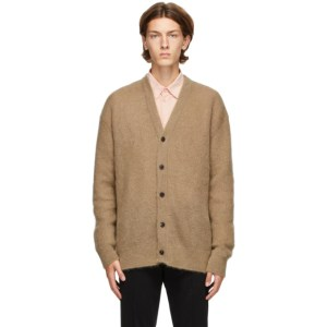 Solid Homme Brown Mohair Cardigan
