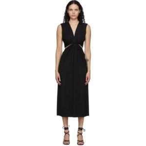 Marina Moscone Black Twist Dress