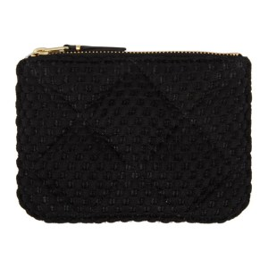 Comme des Garcons Wallets Black Padded Ninja Turtle Pouch