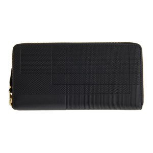 Comme des Garcons Wallets Black Intersection Continental Wallet