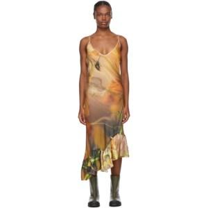 Collina Strada Multicolor Silk Michi Dress