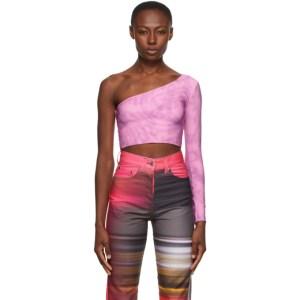Serapis Pink Twirl Single Sleeve Shirt