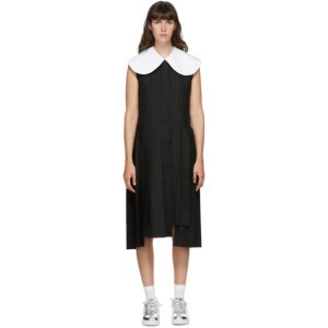 Comme des Garcons Black Large Collar Dress