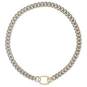 Laura Lombardi SSENSE Exclusive Silver Presa Necklace
