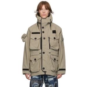 Junya Watanabe Beige Ark Air Edition Field Jacket