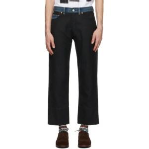 Junya Watanabe Black Levis Edition Hopsack Trousers