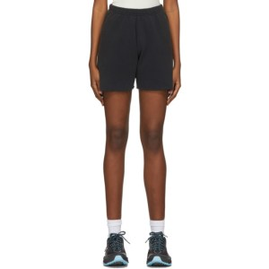 ERL Black Fleece Shorts