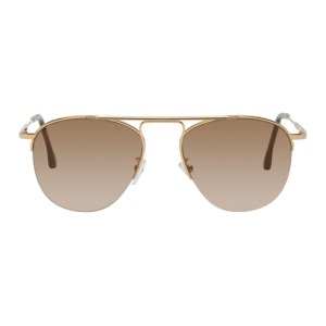 Paul Smith Gold Cactus Sunglasses