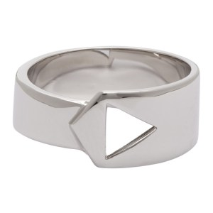 Paul Smith Silver Band Ring