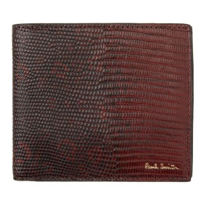 Paul Smith Burgundy Lizard Wallet