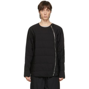 Paul Smith Black Quilted Zip Through Jacket