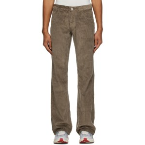 ERL Brown Corduroy Trousers