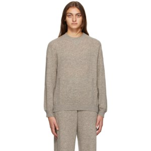 Max Mara Leisure Grey Wool Ampex Sweater
