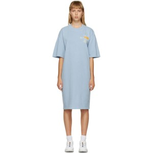 Brain Dead Blue The North Face Edition Ringer T-Shirt Dress