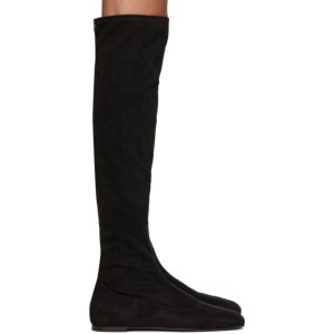 Giuseppe Zanotti Black Stretch Bonny Knee-High Boots