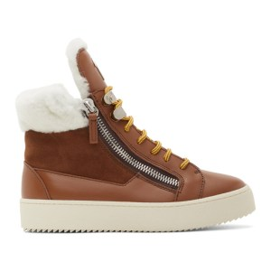 Giuseppe Zanotti Brown Briel May London Sneakers