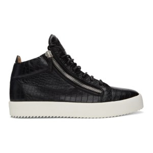 Giuseppe Zanotti Black Darwin May London Sneakers