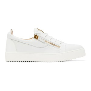 Giuseppe Zanotti White May London Birel Sneakers