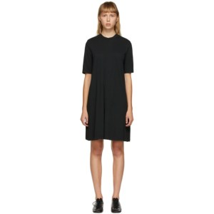 Raquel Allegra Black Jersey Mod Dress