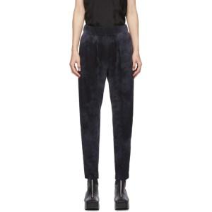 Raquel Allegra Black Jersey Easy Pants