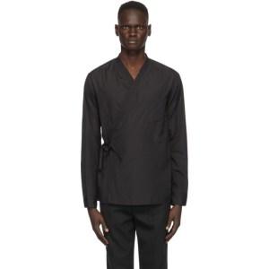 3.1 Phillip Lim Black Kimono Shirt