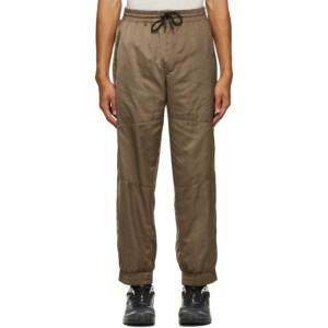 A.A. Spectrum Khaki Shell Track Pants