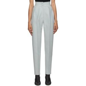 Materiel Tbilisi Grey Wool High-Waist Trousers